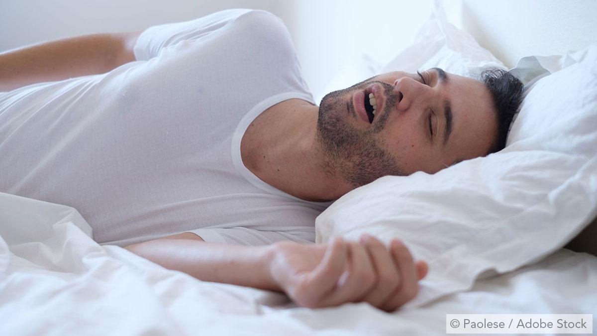Snurken met open mond